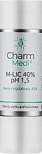 Parfémy, Parfumerie, kosmetika Kyselina mandlová 40 % - Charmine Rose Charm Medi M-Lic 40% pH 1.5