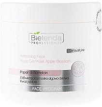 Parfémy, Parfumerie, kosmetika Osvěžující alginátová gelová maska - Bielenda Professional Face Program Refreshing Face Algae Gel Mask Apple Blossom