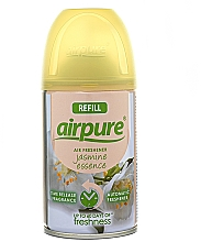 Parfémy, Parfumerie, kosmetika Osvěžovač vzduchu Jasmínová esence - Airpure Air-O-Matic Refill Jasmine Essence