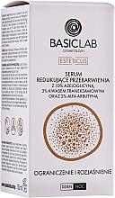 Parfémy, Parfumerie, kosmetika Rozjasňující pleťové sérum proti odbarvení pleti - BasicLab Esteticus Anti-Discoloration Face Serum