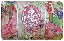 Parfémy, Parfumerie, kosmetika Mýdlo Divoká růže - La Florentina Wild Rose Bath Soap