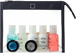 Parfémy, Parfumerie, kosmetika Sada - Ofra Skin Care Kit Dry (cleanser/30ml + f/ton/30ml + eye/remover/30ml + f/cr/30ml + ser/30ml + f/peel/7ml + b/scrub/7ml + bag)