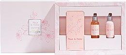 Parfémy, Parfumerie, kosmetika L'Occitane Cherry Blossom - Sada (edt/75ml + sh/gel/35ml + h/cr/35ml)