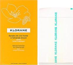 Parfémy, Parfumerie, kosmetika Voskové depilační pásky s mandlí na nohy - Klorane Cold Wax Strips