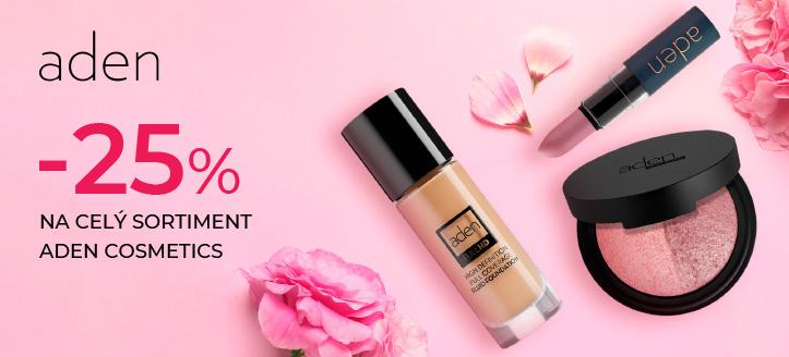 Akce od Aden Cosmetics