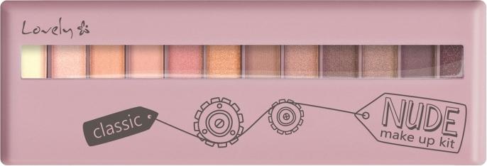 Paleta stínů - Lovely Classic Nude Make Up Kit — foto N1