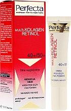 Parfémy, Parfumerie, kosmetika Oční krém - Dax Cosmetics Perfecta Multi-Collagen Retinol Eye Cream 40+/50+