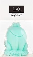 """Parfémy, Parfumerie, kosmetika Přírodní mýdlo ruční výroby """"Žába"""" s vůní kiwi - LaQ Happy Soaps Natural Soap"""