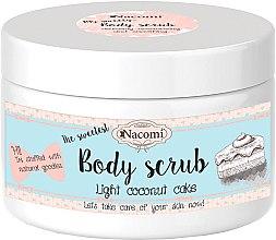 Parfémy, Parfumerie, kosmetika Organický scrub na tělo s kokosem - Nacomi Body Scrub