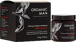 Parfémy, Parfumerie, kosmetika Obnovující peeling s vulkanickou horninou - Organic Life Dermocosmetics Man