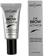 Parfémy, Parfumerie, kosmetika Oxidační činidlo do barev na obočí 6% - LeviSsime Eyebrow Activator