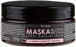 Parfémy, Parfumerie, kosmetika Bahenní maska na tělo se spirulinou, olejem z opuncie a kyselinou - E-Fiore Body Mask With Spirulina, Opuntia Oil And HA Acid