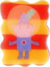 Parfémy, Parfumerie, kosmetika Dětská houba na mytí Ben & Holly, Ben, žluto-červená - Suavipiel Ben & Holly