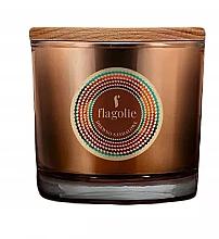 Parfémy, Parfumerie, kosmetika Vonná svíčka v sklenici Santalový strom - Flagolie Fragranced Candle Sandalwood
