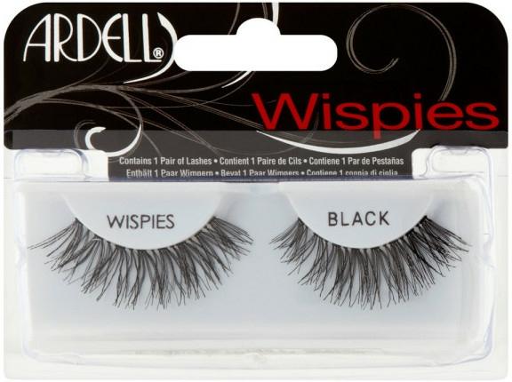 Umělé řasy - Ardell Fashion Lashes Wispies Black — foto N1