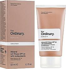 Parfémy, Parfumerie, kosmetika Opalovací krém s minerálními filtry - The Ordinary Suncare Mineral UV Filters SPF30 Antioxidants