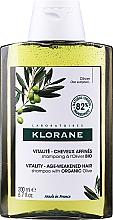 Parfémy, Parfumerie, kosmetika Šampon na vlasy - Klorane Vitality Age-Weakened Organic Olive Hair Shampoo