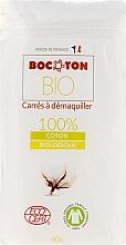 Parfémy, Parfumerie, kosmetika Odličovací tampony, 75x75 mm, 40 ks - Bocoton