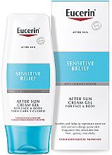 Parfémy, Parfumerie, kosmetika Krém-gel po opalování - Eucerin After Sun Creme-Gel for Sensitive Relief