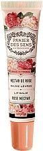 Parfémy, Parfumerie, kosmetika Balzám na rty s bambuckým máslem Růže - Panier des Sens Lip Balm Shea Butter Rose Nectar