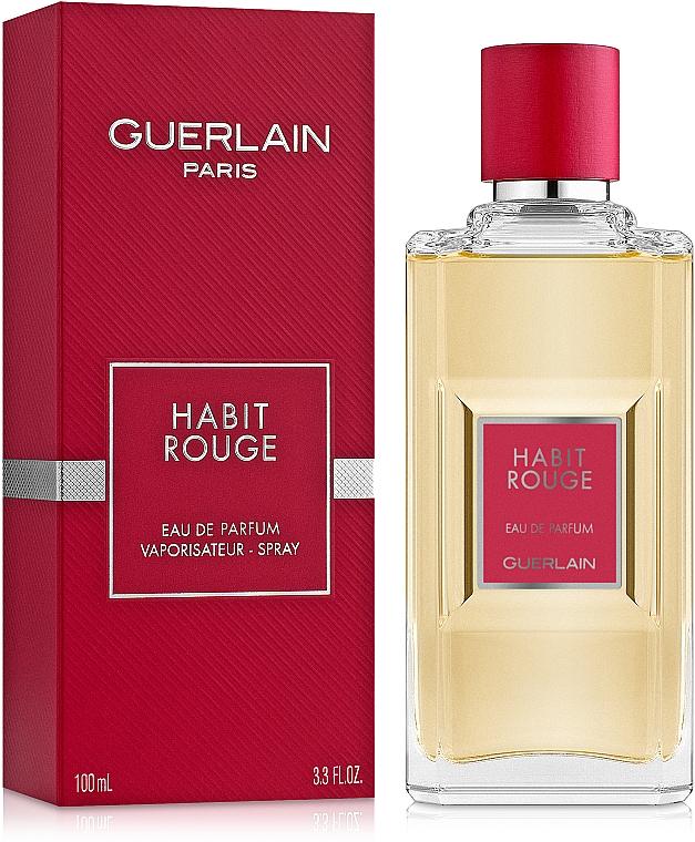 Guerlain Habit Rouge - Parfémovaná voda — foto N2
