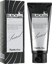Parfémy, Parfumerie, kosmetika Čisticí pěna s mucinem černého hlemýždě - FarmStay Black Snail Deep Cleansing Foam