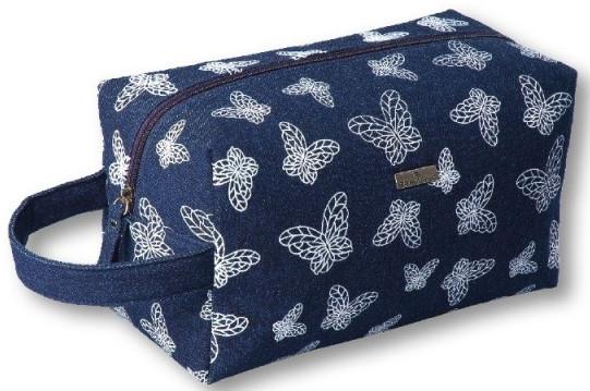 Kosmetická taška, 96204, modrá - Top Choice