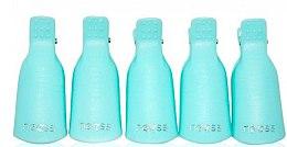 Parfémy, Parfumerie, kosmetika Klipy na odstraňení gel laku, modré - Neess