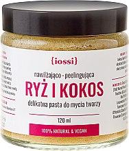 """Parfémy, Parfumerie, kosmetika Pasta na čištění obličeje """"Rýže a kokos"""" - Iossi"""