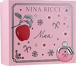 Parfémy, Parfumerie, kosmetika Nina Ricci Nina - Sada (edt/50ml + lipstick/2.5g)