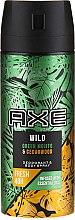 Parfémy, Parfumerie, kosmetika Deodorant a tělový sprej - Axe Wild Green Mojito & Cedarwood