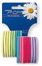 Parfémy, Parfumerie, kosmetika Gumičky do vlasů 18 ks, mix barev, 22227 - Top Choice