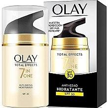 Parfémy, Parfumerie, kosmetika Hydratační denní krém SPF30 - Olay Total Effects Anti-Edad Hidratante SPF30