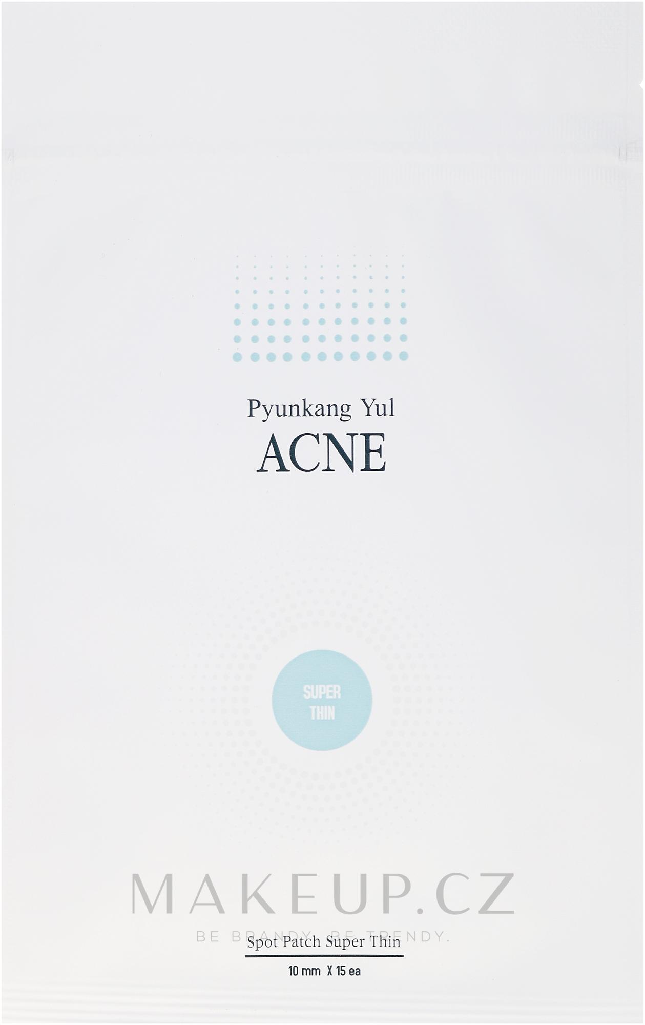 Náplasti proti akné - Pyunkang Yul Acne Spot Patch Super Thin — foto 15 ks.