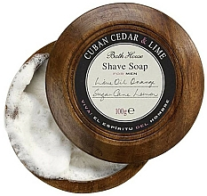 Parfémy, Parfumerie, kosmetika Bath House Cuban Cedar & Lime - Mýdlo na holení