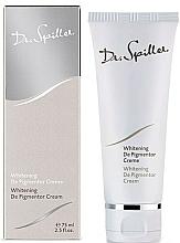 Parfémy, Parfumerie, kosmetika Zesvětlující depigmentační krém - Dr. Spiller Whitening De Pigmentor Cream