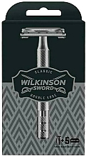 Parfémy, Parfumerie, kosmetika Holicí strojek +5 směnných hlavic - Wilkinson Sword Classic Double Edge