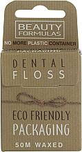 Parfémy, Parfumerie, kosmetika Ekologická voskovaná dentální nit - Beauty Formulas Eco Friendly Dental Floss