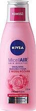 Parfémy, Parfumerie, kosmetika Micelární mléko-tonikum + růžová voda - Nivea MicellAir Skin Breathe