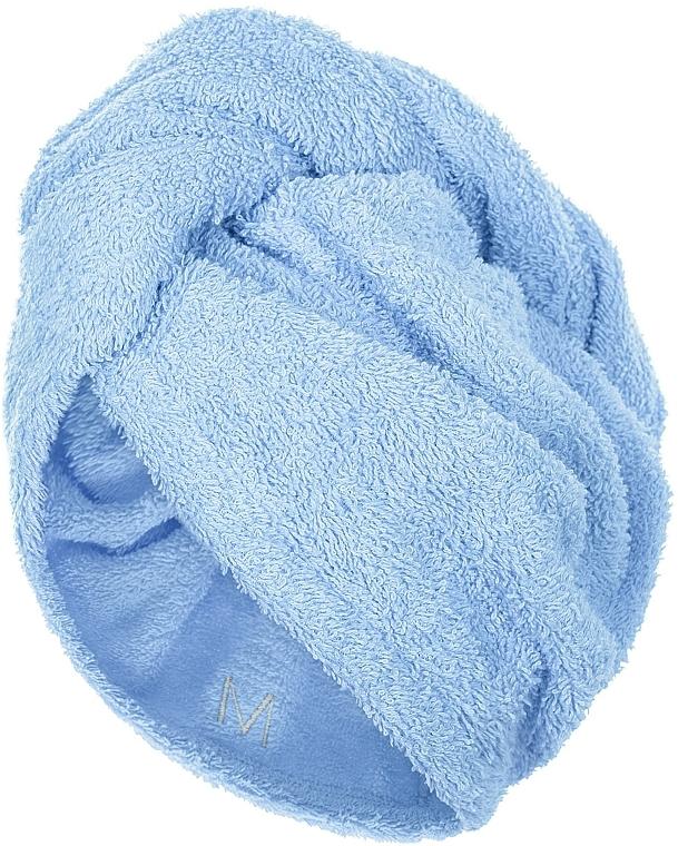 Turban na vlasy, modrý - MakeUp
