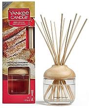 Parfémy, Parfumerie, kosmetika Aroma difuzér - Yankee Candle Reed Diffuser Sparkling Cinnamon