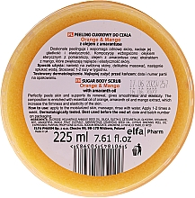 Cukrový tělový peeling - Fresh Juice Orange and Mango — foto N3