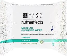 Parfémy, Parfumerie, kosmetika Čistící ubrousky s micelární vodou - Avon Nutra Effects Micellar Cleansing Wipes