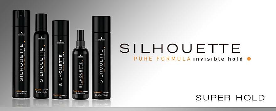 Sprej na vlasy silná fixace - Schwarzkopf Professional Silhouette Pumpspray Super Hold (náhradní náplň) — foto N3