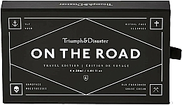 Parfémy, Parfumerie, kosmetika Cestovní sada - Triumph & Disaster On the Road Travel Kit (sh/gel/30ml + f/cl/30ml + cr/30ml + sh/cr/30ml)