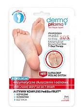 Parfémy, Parfumerie, kosmetika Maska-peeling na nohy - Dermo Pharma Skin Repair Expert S.O.S. Exfoliating & Cell Recovery Foot Mask