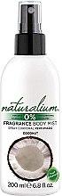 """Parfémy, Parfumerie, kosmetika Sprej na obličej """"Kokos"""" - Naturalium Body Mist Coconut"""