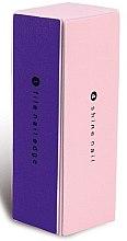 Parfémy, Parfumerie, kosmetika Brusný blok na nehty, 9307, růžovofialový - Donegal