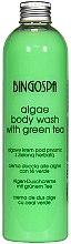 "Parfémy, Parfumerie, kosmetika Sprchový gel ""Mořské řasy"" - BingoSpa Algae Energizing Body Wash Whit Green Tea"
