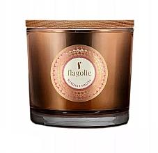 Parfémy, Parfumerie, kosmetika Vonná svíčka v sklenici Vanilka a malina - Flagolie Fragranced Candle Vanilla And Raspberry